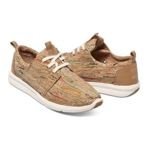 Tons Multi Cork Del Rey Sneakers - Womens 7